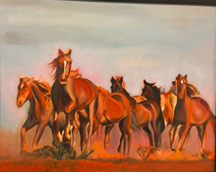 Wild Horses Ann Connolly-Shuits