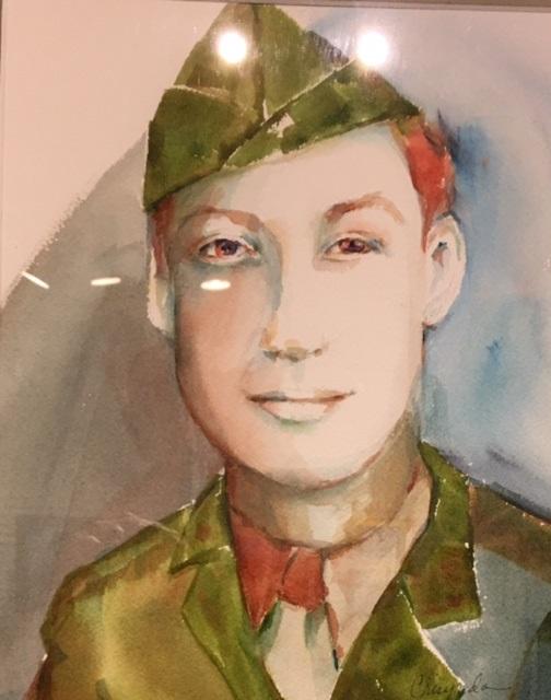 Ralph David Marine WWII Crisynda Buss