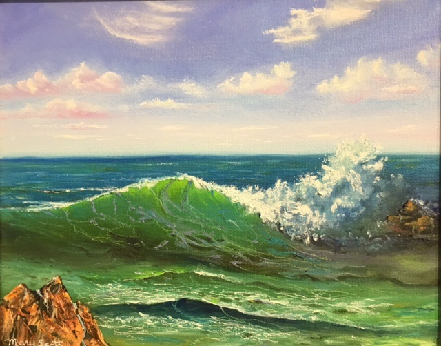 Crashing Waves Mary Scott