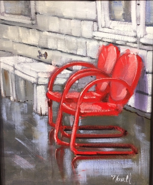 Two Red Chairs Alan Nowell