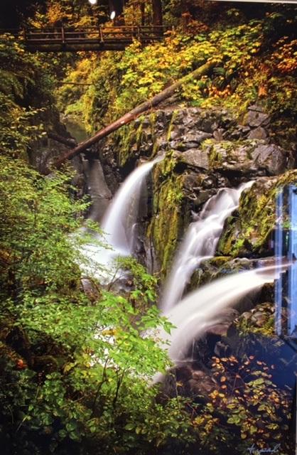Sol Duc Waterfalls Arpad Petrass
