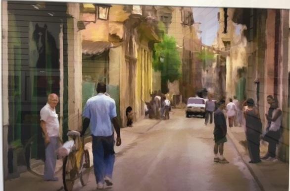 Havana Scene - Paul Lawrence