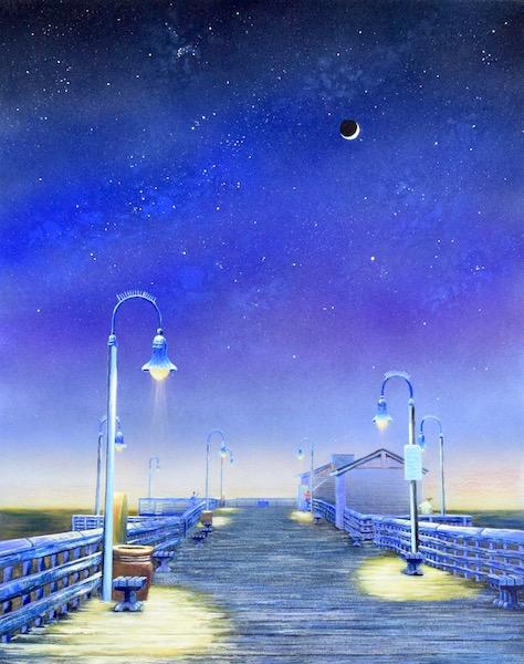 San Clemente Pier - Mary Scott