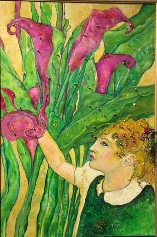 Spirit of the Calla Lily - Elixabeth Iza Stocks