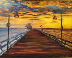 Sunset San Clemente - Monika Wisberger