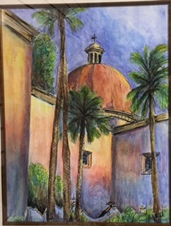 Sunset on the Mission - Sheila Shepherd