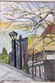 Up the Street - Judy Tatman