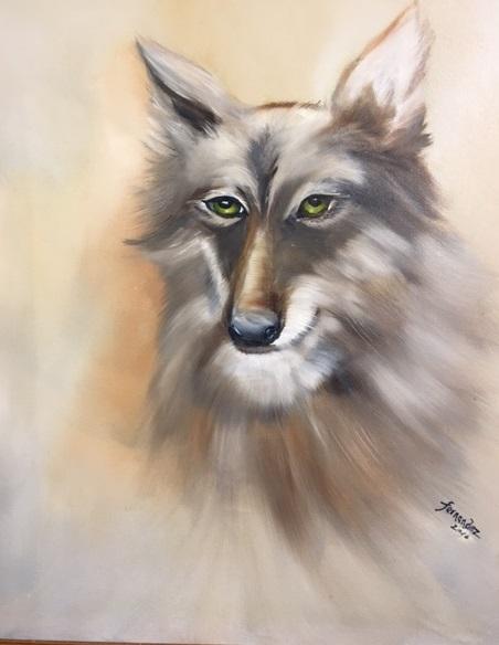 Wolf Sighting - Evelyn Fernandez